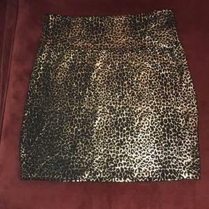 Forever 21 Cheetah Skirt